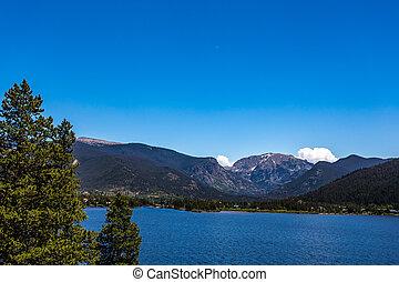magnífico, colorado, lago