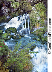 magnífico, fabuloso, paisaje, en, nueva zelandia