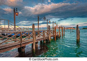magnífico, italia, canal, venecia
