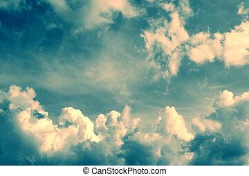 magnífico, nuvens
