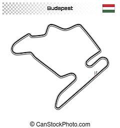 magnífico, pista, prix, carrera, autosport, motorsport
