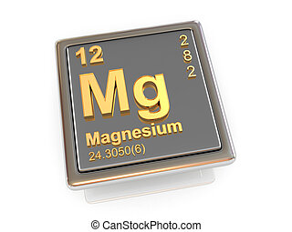 magnesium., 化学物質, element.