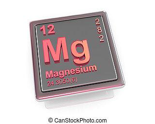 magnesium., chemikálie, element.