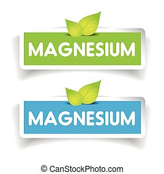 Magnesium label vector set