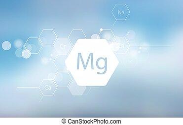 magnesium., research., scientifique