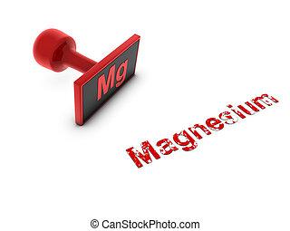 magnesium stamp