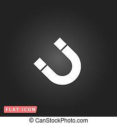 Magnet flat icon