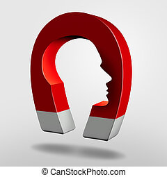 Magnet Head - Magnet head as an attraction psychology ...
