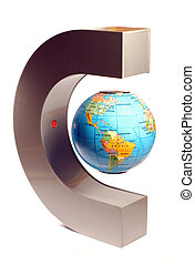 Magnetic Globe - A little globe standing in the air