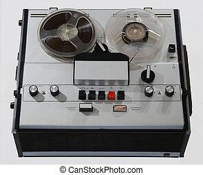 magnetophone, föråldrad