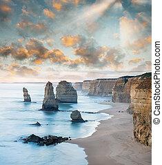 Magnificence of 12 Apostles, Australia.