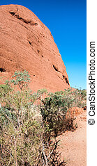 Magnificence of Australian Outback.