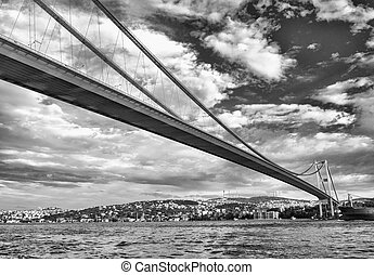 Magnificence of Bosphorus Bridge, Istanbul