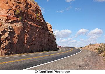 Magnificent American road