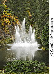 Magnificent dance fountain