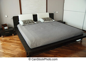 Magnificent double bed.