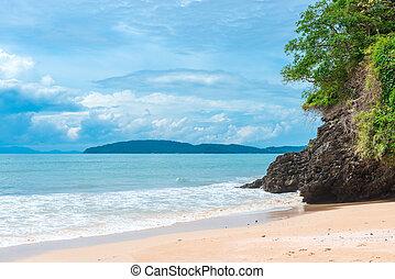magnificent landscape of the Andaman Sea, Krabi Province, Thailand