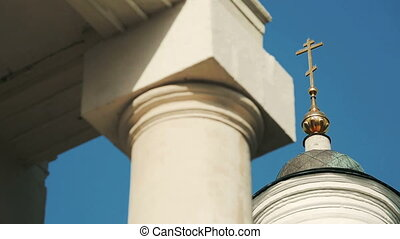 magnificent Orthodox Church - magnificent Orthodox temple at...