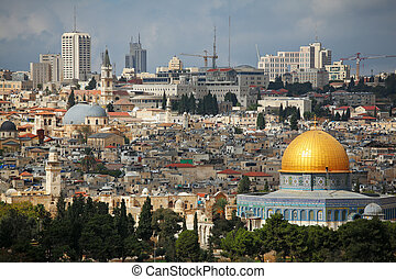 Dome of the Rock and Dome of the Holy Sepulcher