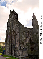 Magnificent Ruins of Holyrood Abbey