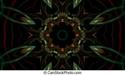 magnificent spiral flower pattern