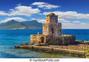 Magnificent watchtower - Magnificent three-tiered watchtower...