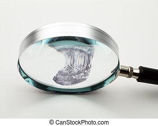 magnifier, 指紋