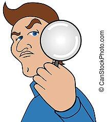 magnifier, 漫画, 人