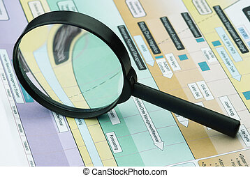 magnifier and presentation