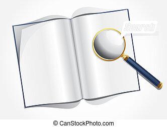 magnifier, revista, esquema