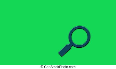 Magnifier search - Animated Search Icon Loop Modules for...