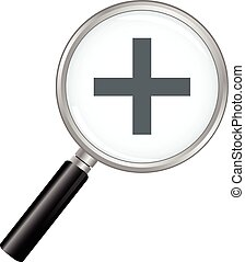Magnifier Zoom In - A zoom in magnifying glass.