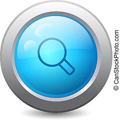 Magnify web button