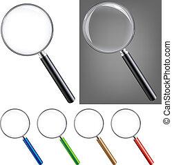 Magnifying Glass Big Set