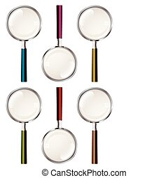 Magnifying glass collection - Collection of magnifying glass...