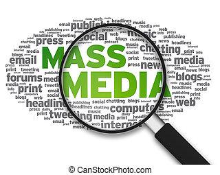 Magnifying Glass - Mass Media