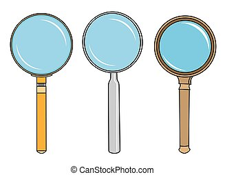 magnifying glass object