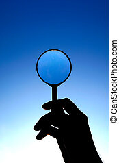 Magnifying Glass on the Sky