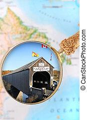 Hartland, New Brunswick