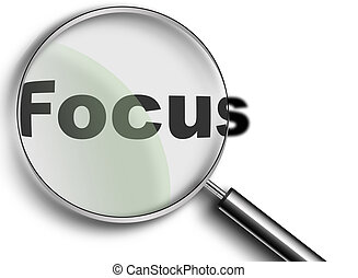 Magnifying Glass with focus - Magnifying Glass created in...