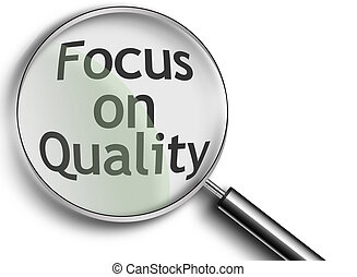 Magnifying Glass with focus on quality - Magnifying Glass...