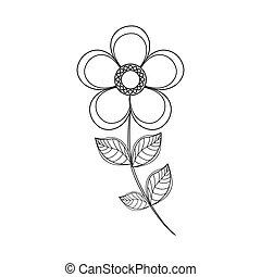 magnolia flower decoration line