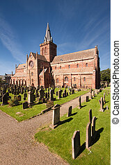 magnus, c/, orkney, catedral