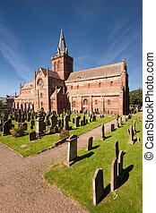magnus, st, orkney, katedra