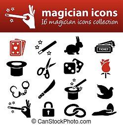 mago, icone