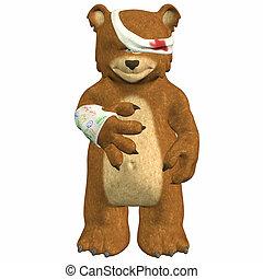 magoado, urso