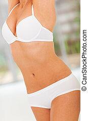 magro, corpo donna
