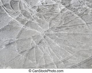 magro, ghiaccio