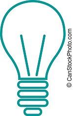 magt, el, lys, energi, ide, tegn, lampe, beklæde, ikon, symbol, art.