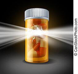 magt, i, medicin